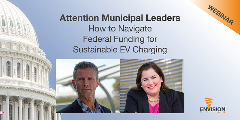How to Navigate Federal Funding for Sustainable EV Charging – Webinar on Demand